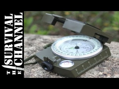 Military Prismatic Sighting Compass Preview -The Survival Channel -Outdoor Gear Reviews