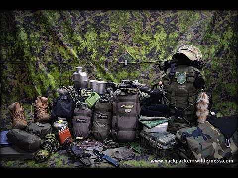 Survival & Tactical Bushcraft Tour with Gear, Skills and Techniques for Beginners