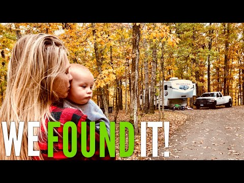 The BEST Boondocking/FREE Camping Spot in ALL of Tennessee | Fulltime RV Family of 6