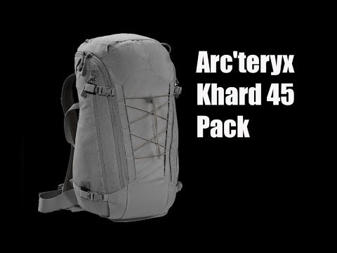 Arc'teryx Khard 45 Pack – Preview – The Outdoor Gear Review