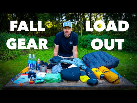 How I Fit All My Gear In My Pack   Fall Backpacking Gear Loadout