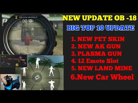 Big Top 10 Update Ob 18 Free Fire New Pet Skin New Ak Gun