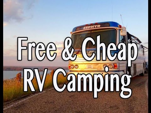 Free & Cheap RV Camping Options
