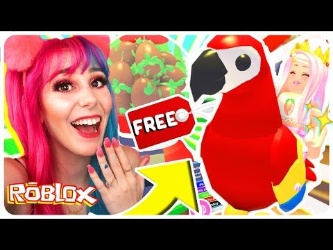 How To Get A Free Legendary Parrot Pet In Adopt Me Roblox Adopt Me New Jungle Pets Update Real Camping Tips