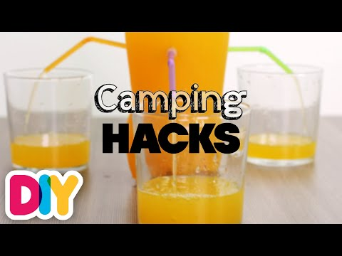 8 MIND-BLOWING CAMPING HACKS | Genius-n-Simple | DIY Art & Crafts for Parents