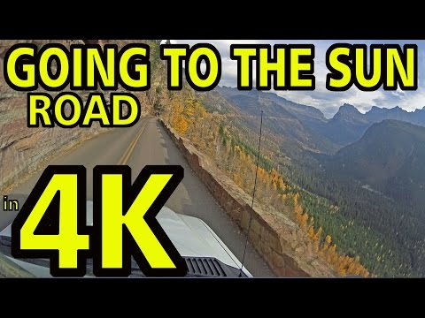 """Top 11"" Tips for Surviving GOING-TO-THE-SUN ROAD in Glacier National Park ***4K Ultra HD***"