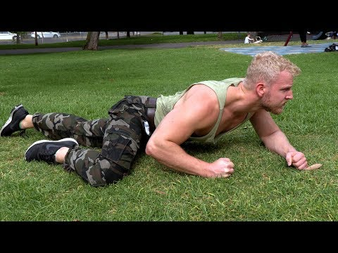 Military Strength Workout for Army Boot Camp (4 WEEK PROGRAM)