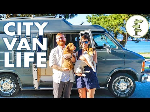 Van Life – Couple Saves $18,000 a Year by Living in a Camper Van