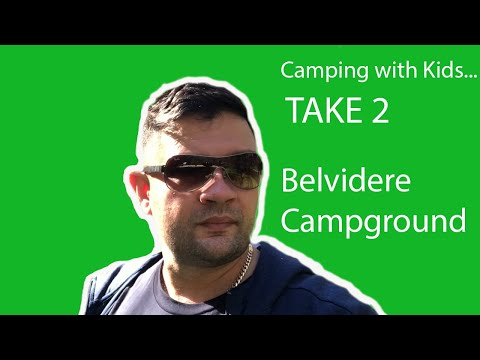 Camping with Kids… TAKE 2! Belvidere Campground Review.