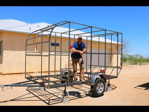 How to Build a DIY Travel Trailer –  The Frame  (part 1)