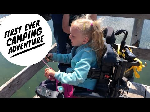 First EVER Camping Adventure (PT 2)- Family of 7 – Camping with Wheelchairs- TLU