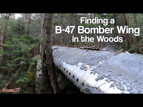 Military Surplus Camping Pt 2 – Finding the B-47 Crash Wing