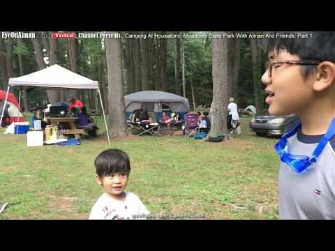 Camping @ Housatonic Meadows State Park With Aiman And Friends: P1 – Who Needs Internet To Have Fun?