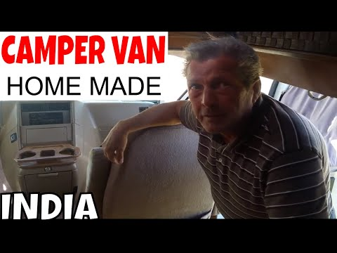Homemade Indian Campervan for 100 000 Rupees – INDIA