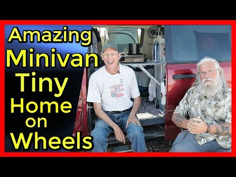 Incredible Minivan with Many Ingenious Tips and Tricks!
