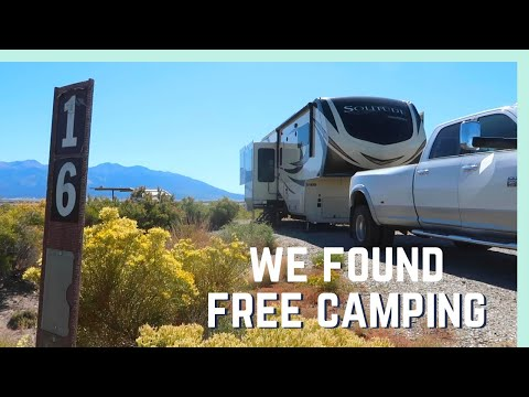 FREE CAMPING NEAR THE GREAT SAND DUNES! (AND EXPLORING MESA VERDE NATIONAL PARK)
