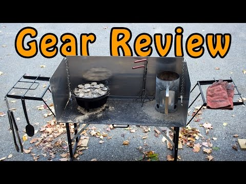 Gear Review   Chuck Wagon Supply Dutch Oven Cooking Table