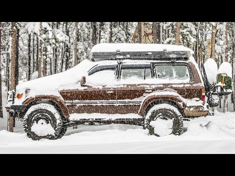 WINTER / Snow Overlanding, Camping, Off-roading TIPS & TRICKS – Winter Preparedness