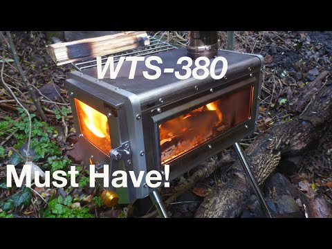 WTS380 Stove for camping