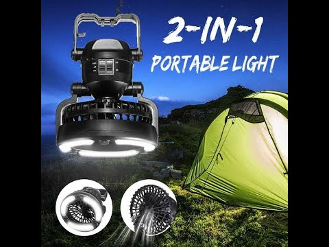 best portable Tent Led And Fan  2020-comlife portable led camping lantern