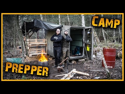 Im Prepper Camp von Fritz Meinecke – Outdoor Bushcraft Survival