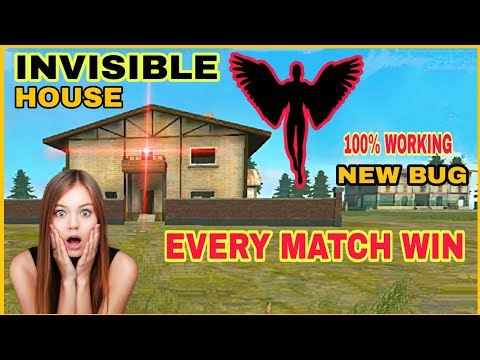TOP 1 HIDDEN PLACE || NEW INVISIBLE TRICK IN FREE FIRE || FREE FIRE NEW BUG || EVERY MATCH WIN.