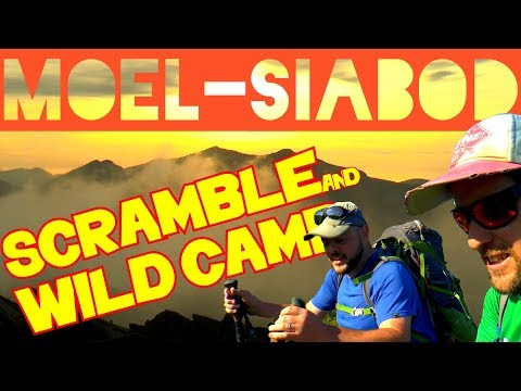 WINDY SNOWDONIA SCRAMBLE & WILD CAMP – Moel Siabod with YouTuber Joss