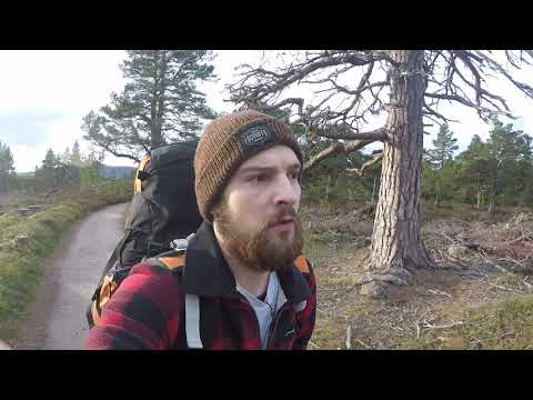 Crossing over the Cairngorm Mountain's – Part 1 (Winter Solo Hiking & Camping Adventure)