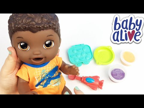 Unboxing my Newest Baby Alive Super Snacks Snackin' Luke Doll