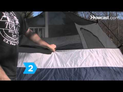 How to Wash a Tent