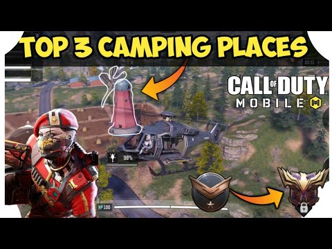 BEST CAMPING PLACES IN BATTLE ROYALE CALL OF DUTY – HINDI    COD MOBILE BATTLE ROYALE TIPS AND TRICK