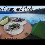 Tacos On The Firebox Stove | Alone Overnight Solo Camping Trip