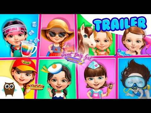 YAY! VACAY! 🌞🌴 Sweet Baby Girl Summer Fun 2 | TutoTOONS Cartoons & Games for Kids