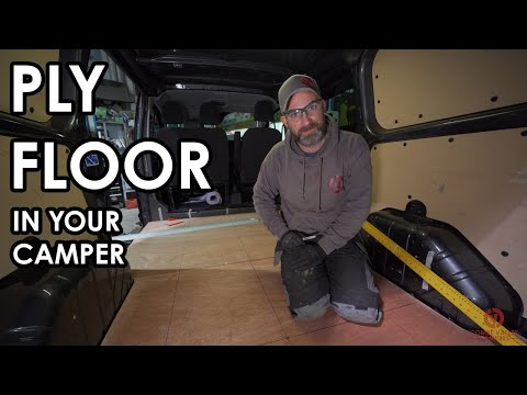 HOW TO PROFESSIONALLY FIT A PLY FLOOR IN YOUR CAMPER. Tips, tricks and hints.