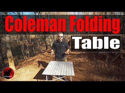 Worth $30? – Coleman Folding Table – Overland and Car Camping