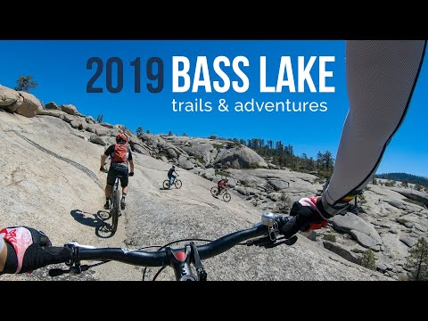 Camping at Bass Lake  and mountain bike trails Goat Mt, Blind Squirrel, 007