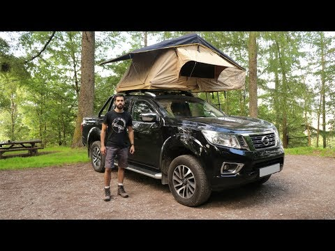 Solo Overnight Camp in the Mountains (Truck Camping) – Lake District Adventure | Ep.2