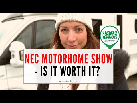 NEC Camping Caravan and motorhome show – is it worth your time? (Plus 5 tips for visiting)