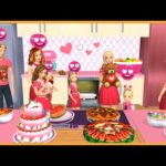 Barbie Dreamhouse Adventures #383 | Valentine's Day | Game untuk anak | Fun Kids Game | HayDay