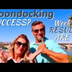 DESERT BOONDOCKING RESULTS | 30 Day CHALLENGE | RV Living