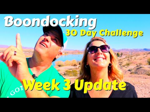 30 Day Desert Boondocking – Week 3 | Drag Boat Races | Desert Bar | RV Living