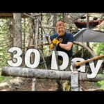 SURVIVAL Catch and Cook Series! Day 1 Of 30 Day Survival Challenge Season 2 Canadian Rockies