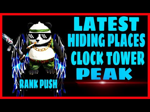NEW || HIDING PLACES || CLOCK TOWER || PEAK || POCHINOCK || SECRET UNSEEN ||  FREE FIRE- BEAST IAS