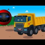 Zobic –  Dump Truck | Spaceship Songs For Children | Cartoon Videos by Kids Tv
