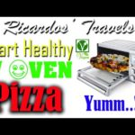 Baking with the Portable RV Convection Oven by Breville and a Yummy Heart Healthy Pizza Recipe