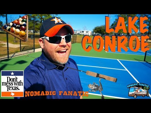 Lake Conroe Camping & Crazy Texas Weather