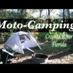 Motorcycle camping Trip 2up in Florida | in the rain Ep.1