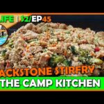 Chicken And Veggie Stir Fry on the Blackstone | Camp Kitchen | RV Living – S2EP45