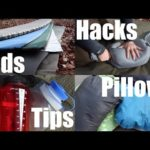 Camping Mats, Pads, Pillows and Sleeping Gear. Tips on Keeping Warm and Comfortable at Night.