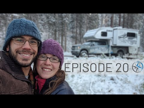 The End of the Journey: Camping in Snow, Mountain Biking, Prince George & Going Home | Go North Ep20